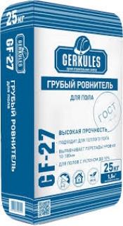 Грубый ровнитель д/пола GF-27 25кг Геркулес /56/