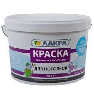 Краска в/д д/потолков БЕЛЫЙ 14кг (Л-С)/44