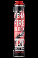 П/м PROFFLEX FIRE BLOCK противопожарная 65л. 850 мл. 900 г/12/60
