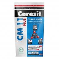 Клей Ceresit СМ11 5кг д/крепл. керам.плитки д/внутр. и наруж. работ