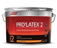 Краска латексная PARADE PRO'LATEX Е2 база А глубокомат. 0,9л