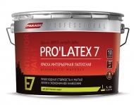 Краска латексная PARADE PRO'LATEX 0,9л Е7 база С шелк-мат.