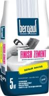 Bergauf ШПАКЛЕВКА Finish Zement 5кг фасадная финишная, Белый