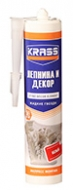 Клей KRASS ЖГ (Лепнина и Декор) д/стиропора и панелей Белый 300мл /24