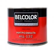 Эмаль НЦ-132 БЕЛКОЛОР Коричневый 1,7кг/6/240
