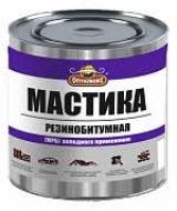 МАСТИКА Резинобитумная 1,8кг ОПТИЛЮКС банка /6/