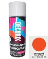 Аэр. эмаль DECORIX A03 Оранжевый 520мл/12/