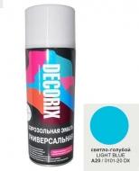 Аэр. эмаль DECORIX A20 Светло-голубой 520мл/12/