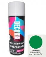 Аэр. эмаль DECORIX A14 Зеленый 520мл/12/