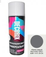 Аэр. эмаль DECORIX A28 Темно-серый 520мл/12/