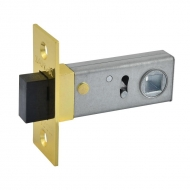 Защ.дверная магнит. С-50М (полир.латунь)