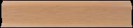 Плинтус Лайн Пласт Матовый Дуб Аризона L022