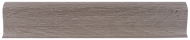 Плинтус Лайн Пласт Матовый Дуб капучино L044
