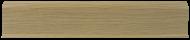 Плинтус Лайн Пласт Матовый Дуб светлый L011