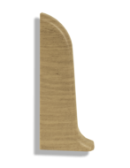 Заглушка левая Лайн Пласт Матовый Дуб светлый L011