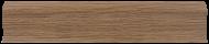 Плинтус Лайн Пласт Дуб темный L013/2,5м/