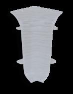Угол внутренний Лайн Пласт Серый дуб L061