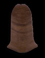 Угол наружный Лайн Пласт Орех темный L017