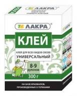Клей ЛАКРА универсальный 300г 8-9 рулонов/12/