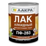 Лак ПФ-283 алкидный (Л-С) 0,8кг/10/