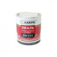 Эмаль ПФ-115 Белый гл. 0,9кг (Лакра) /10