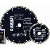 Диск алмазный ТУРБО D125*d22.2*2.5*8 Zigger PF /25/