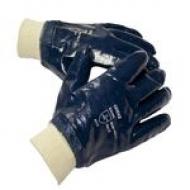 Перчатки с нитриловым покрытием Л-С
