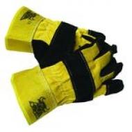 Перчатки спилковые комбинированные Л-С