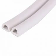 Уплотнитель D-профиль 7.4*9мм, 100м белый