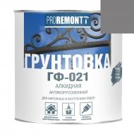PROREMONT Грунт ГФ-021 Серый 0,9кг /10/Л-С