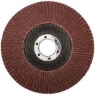 Круг лепестковый торцевой 125х22 Р80 (алюминий) Л-С